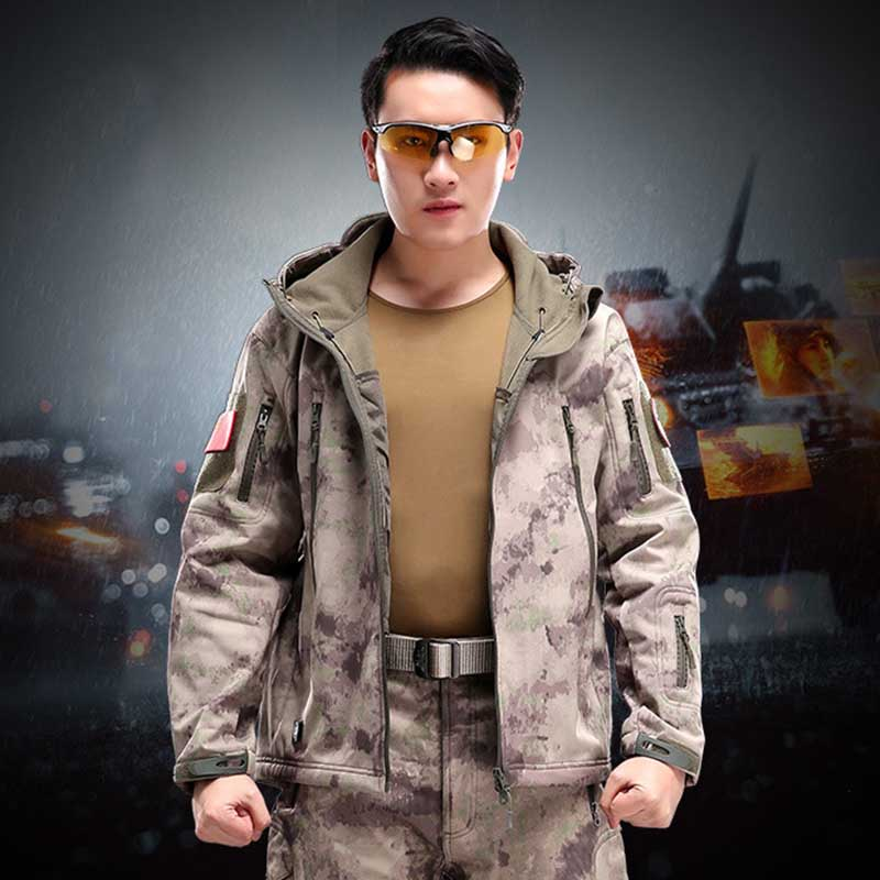 Wholesale Men Winter Rainproof Windproof Softshell Army Thermal Coat Outdoor Sports Hunting Working Safety Wear Accessories-in Safety Clothing from Security & Protection on AliExpress - 11.11_Double 11_Singles' Day 1