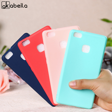 AKABEILA Silicone Phone Cases For Huawei P9 Lite Bag Cover P