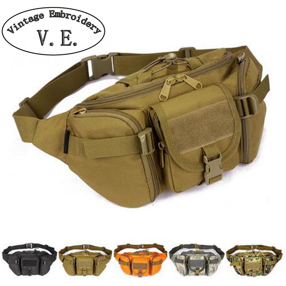 Prix pour Étanche hommes Taille sacs Hip Paquet pochete casual Fanny Pack voyage grand sac de taille de l'armée