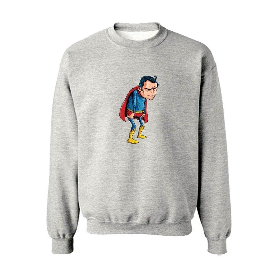 Steady 2019 Superman Vs Batman O-neck Hoodies Boys/girls Zwart Katoen Sweatshirt Mannen Harajuku Super Saiyan Heren Casual Warm Clothes Men's Clothing