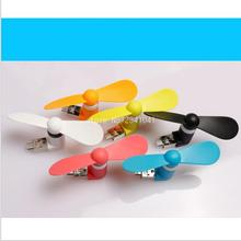 Micro Cooling Fan USB Mini Portable For Xiaomi Android Power Bank Random Color