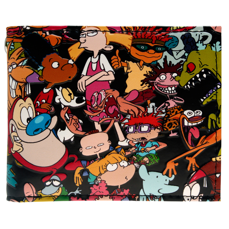Nickelodeon Bi-Fold Wallet  DFT-10109
