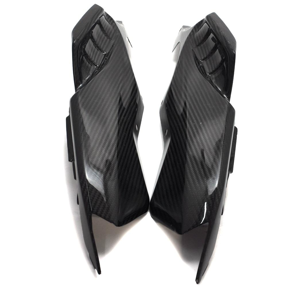 For Yamaha MT 07 MT07 MT-07 FZ07 2014 2017 Motorcycle Accessories Rear Side Tail Panel Fairing Cowl 100% Real Carbon Fiber 550t001m1r3e0l d sub backshells split bkshll top rear mt str mr li