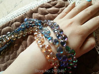 Min Order 10 95Pcs Pack 10 9MM Tear Drop Crystal Lampwork Glass Bead Strand Jewelry