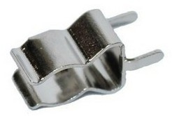 6 * 30MM Ceramic Fuse Clip Fuse Clip Tinned Silver-plated Terminals PCB Panel Mounting Clip