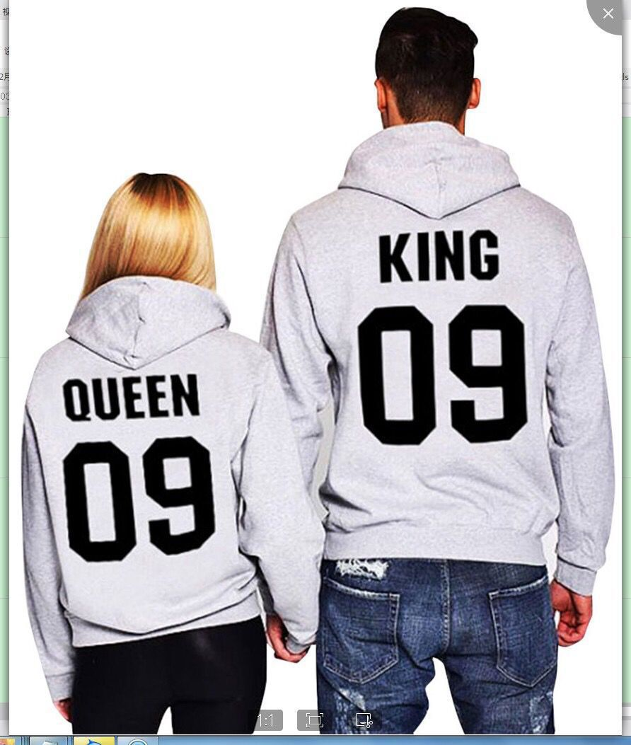queen king hoodies women love pink clothes oversized hoodie 2019 fashion sweatshirt harajuku womens pullover gothic black