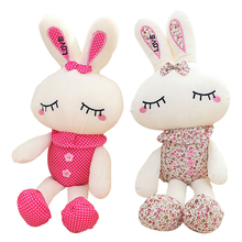 "11"" 28cm Lovely Rabbit Plush Toy Soft Love Rabbit Toy 2 Styles Stuffed Animal Doll Gifts for Children and Girls"