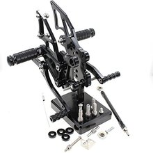цена на For Yamaha YZF-R25 YZF-R3 2014-2017 Sport Motorcycle CNC Adjustable Rearset YZF R25 R3 Foot Pegs Foot Rests Footrests Footpegs