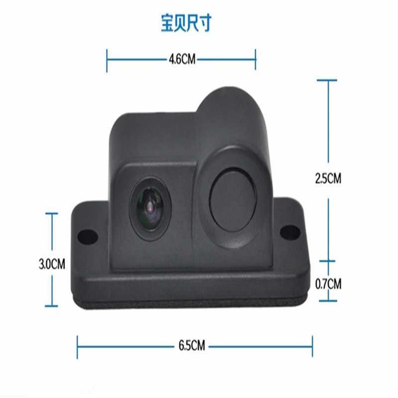 OMESHIN バックアップカメラ 170 度レーダーパーキングセンサー視野角 HD 防水 12DCV ドロップシップ 19F22