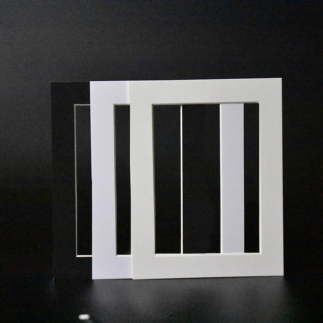 Ht Photo Frame 2 Mm Bevel Cut Cardboard Mounts For 8x12 Photos Simple Large