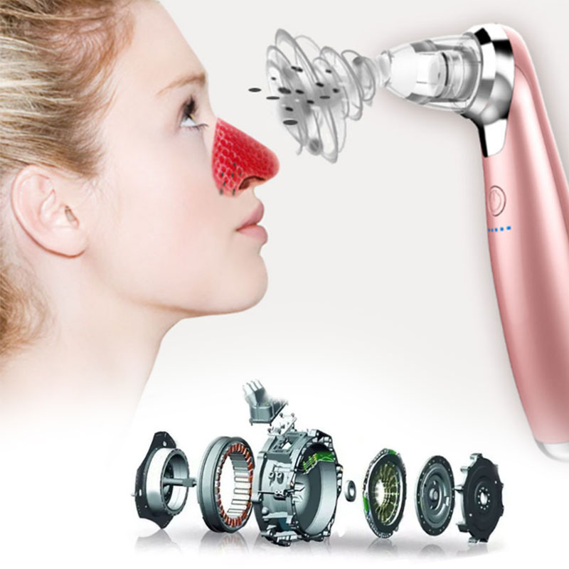 Electric Pore Cleaner Acne Pimple Extractor Point Noir Blackhead Vacuum Remove Tool Black Spot Cleaning Face Skin Lift Tool face nose vacuum blackhead extractor pores cleaning black dot comedo extractor point noir aspiration acne suction skin tool