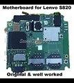 Toda a função mainboard original para lenovo s820 android motherboard placa lógica cabo flexível do volume de solda sistema de teste bem