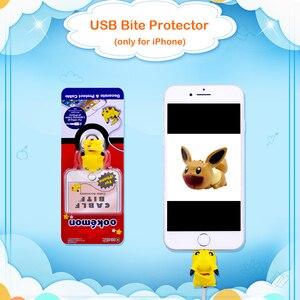 Image 2 - CHIPAL かわいい動物ケーブルプロテクター iphone の usb データ線ワインダーオーガナイザー Chompers 漫画保護咬傷人形モデルホルダー