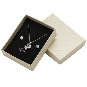 Image 2 - 24pcs Jewelry Box 7*9*3cm Jewelry Sets Display Box Multi Colors Ring Box Necklace Packaging Earrings Gift Box Black Sponge