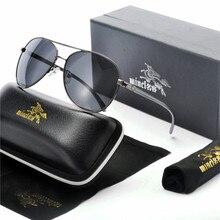 Алюминиевые магния мужские солнцезащитные очки пилота поляризационные классические очки мужские очки с цветным покрытием мужские очки аксессуары для женщин FML