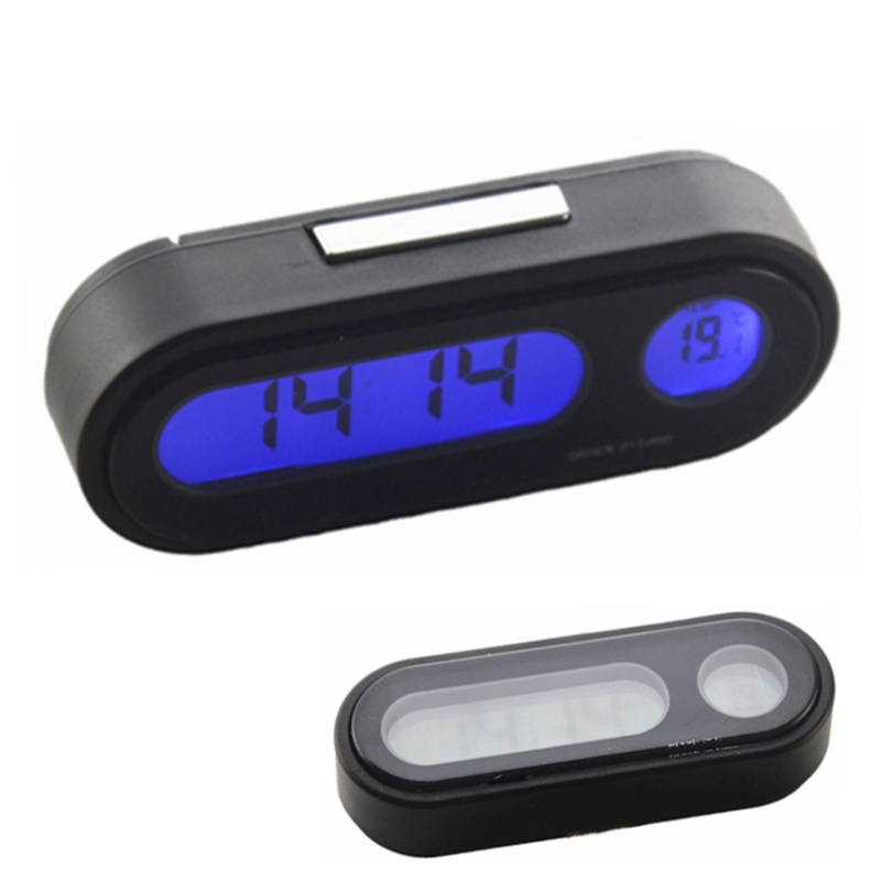 12/24 hours LED Display Car Auto Vehicle Thermometer Clock 2 in 1 Digital Automotive Temperature Meter Drop Shipping Universal wells herbert george the first in the moon