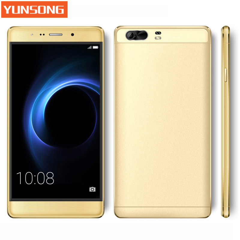 bilder für 2017 original handy yunsong s9 plus 16mp kamera 6,0 zoll smartphone mtk6580 quad core dual sim handy gsm/wcdma 3G