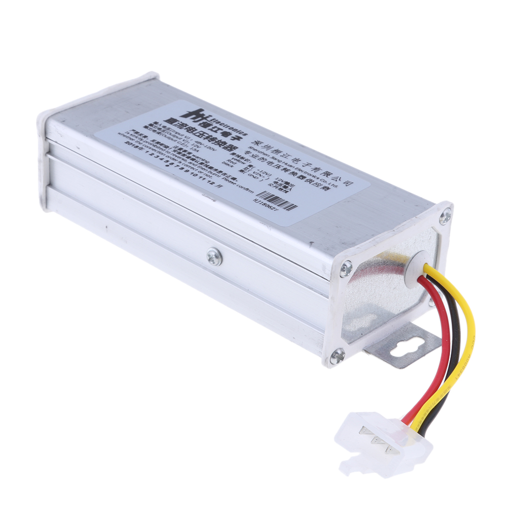 DC-DC Buck Step Down Converter Module Safe Reliable Car Electronics Accessories 48V-120V To 12V 15A/180w Output