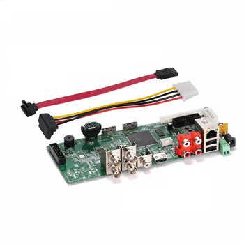 DVR Board 4CH 8CH 16CH 5M-N Hybird NVR H.265 Network Video Recorder For 5MP AHD/CVI/TVI/CVBS/IP Cameras