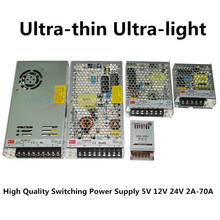 LED 12 V 24 V to 2A 4A 8A 10A 14A 16A 20A 29A power supply transformator Strip lights adapter Switching Power Supply