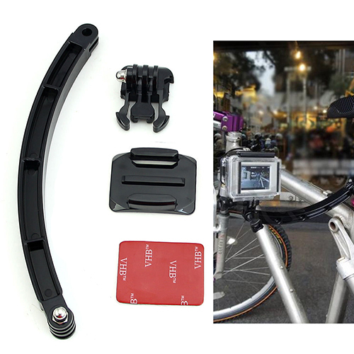 2015 Hot Selling Free Shipping Arm Mount Helmet Extension High Quality Kit For Gopro Hero3 SJ4000 Acces Motorcross  59CD