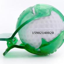 Mounchain Golf Ball Liner Marker Template Drawing Alignment Tool + Pen (Random C