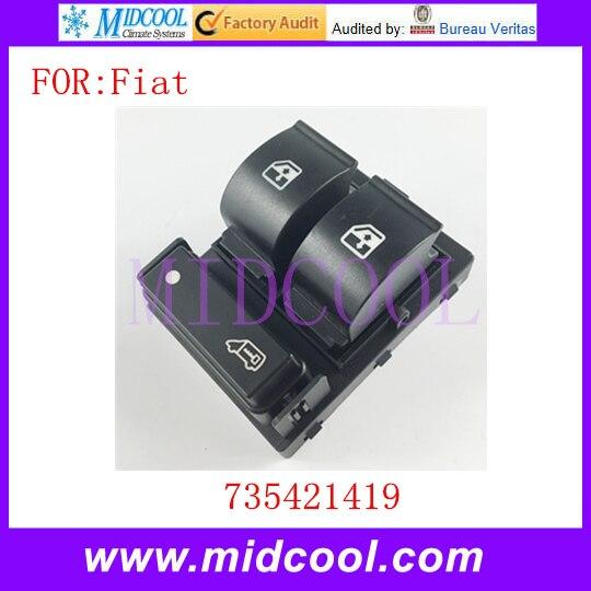 New Power Window Switch OEM 735421419 For Fiat