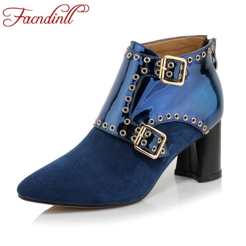 Womens Blue Suede Boots Promotion-Shop for Promotional Womens Blue ...