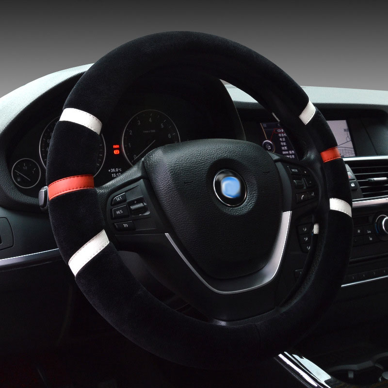 car steering wheel cover winter auto accessories for <font><b>mercedes</b></font> benz Class B W245 <font><b>W246</b></font> <font><b>b180</b></font> GLA x156 cla GLK 350 X204 GLC 300 image