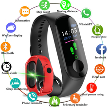 LIGE 2019Smart Bracelet Wrist Watch Heart Rate Monitor Blood Pressure Fitness Tracker Smart Band Sport for IOS Android+BOX