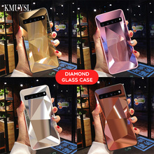 Зеркало Алмазный чехол для samsung Galaxy A50 A70 A30 A20 A10 M10 M20 M30 S10 E S8 S9 J6 плюс A9 A8 A6 A7 A5 Note 9 крышка