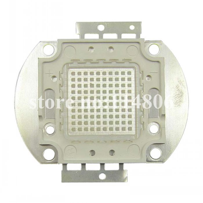 100W Square Base UV Ultraviolet 395nm SMD LED Bead Light Parts F Currency detector 100w square base infrared ir 850nm smd led light lamp parts 17v 3500ma