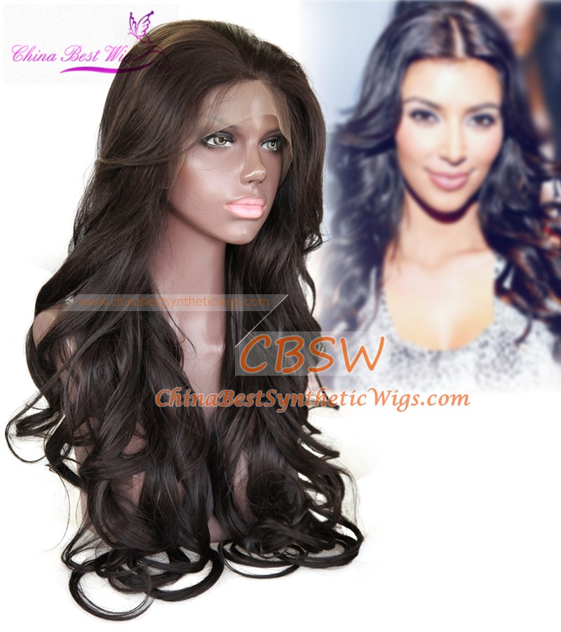 Cbwigs New Year Sale 51cm Cheap Price Celebrity Hairstyle Kim