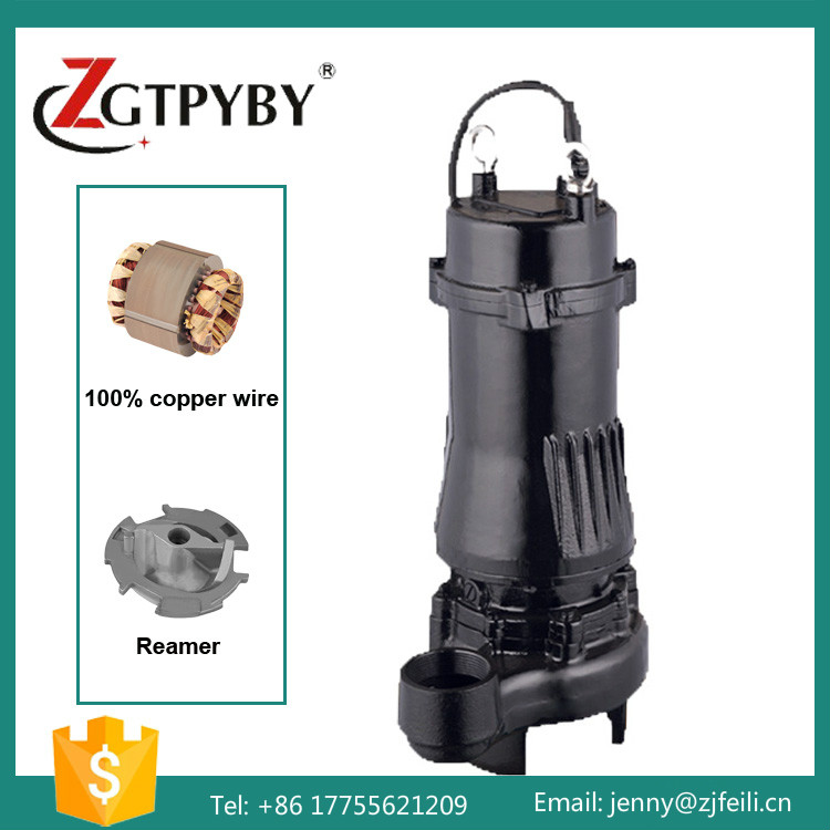 2.2kw sewage pump cutting submersible submersible sewage cutter pump with cutter made in china submersible pump sewage pump sewage pump cutting submersible sewage pumps