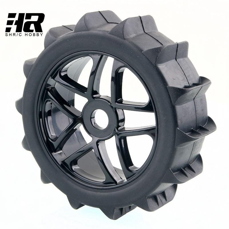 RC car 1/8 desert SUV tire wheel 17mm Hex Hub Desert Snow Tires Set Tyre Wheel Rim For HPI HSP Traxxas Buggy Model Car Truck цена