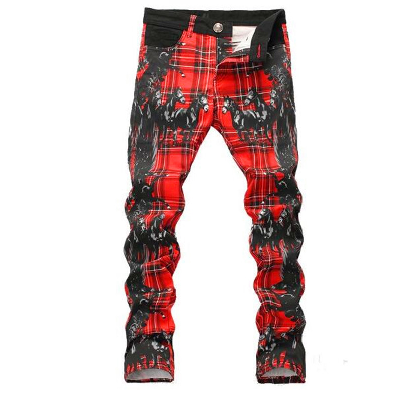 Free Delivery, 2017 Spring And Summer New Men's Pants Men's Horses Printed Jeans Waist Straight Cylinder Self-cultivation Tide atamjit singh pal paramjit kaur khinda and amarjit singh gill local drug delivery from concept to clinical applications