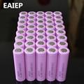 40 pcs/lot 3.7 V 2600 mAh EAIEP D'origine 18650 rechargeable li-ion Batterie Pour ICR18650-26F ICR18650 26F 2600 mAH batteries