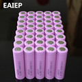 40pcs/lot 3.7V 2600mAh EAIEP Original 18650 rechargeable li-ion Battery For ICR18650-26F ICR18650 26F 2600 mAH batteries