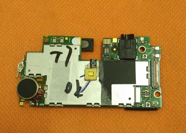 "Usado Original mainboard 3G RAM + 16G ROM Motherboard para THL T7 MTK6753 Octa Core 5.5 ""HD 1280x720 Frete grátis"