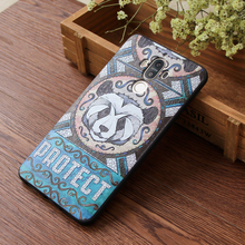 3D Embossed Soft Shell Phone Cases For Samsung Galaxy S8 S9 Mobile Phone Cover For Samsung Galaxy S8 Plus Galaxy S9 Plus Case