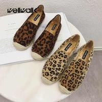 Fur Flat Shoes Women Leopard Shoes Ladies Loafer Flats Slip On Shoes Women Espadrilles Autumn Moccasins Isabel Shoes