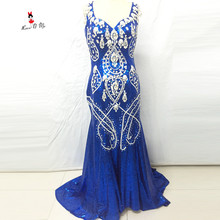 Lave U Me Luxury Evening Dresses Mermaid Prom Dress
