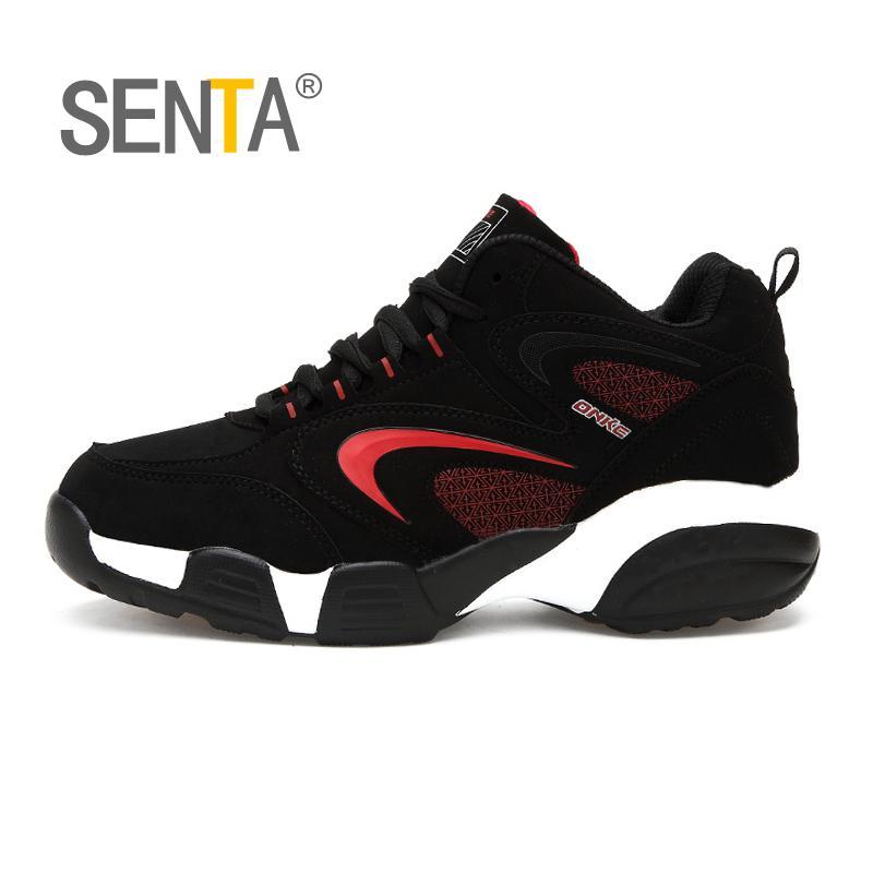 SENTA Women Running Shoes Men Sport Plush Keep Warm Sport Shoes Men Sneakers Men Cotton-padded Shoes Outdoor Running Shoes