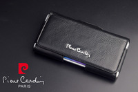Brand New Pierre Cardin Genuine Leather Belt Clip Case Cover For LG G3 G4 G5 Universal