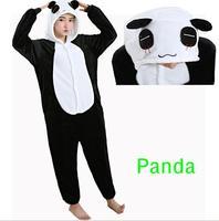 Panda Onesie Pajamas Sets Adult Halloween Cosplay Christmas Costumes Stitch Unicorn Lumer Sleepwear Winter Nightie For