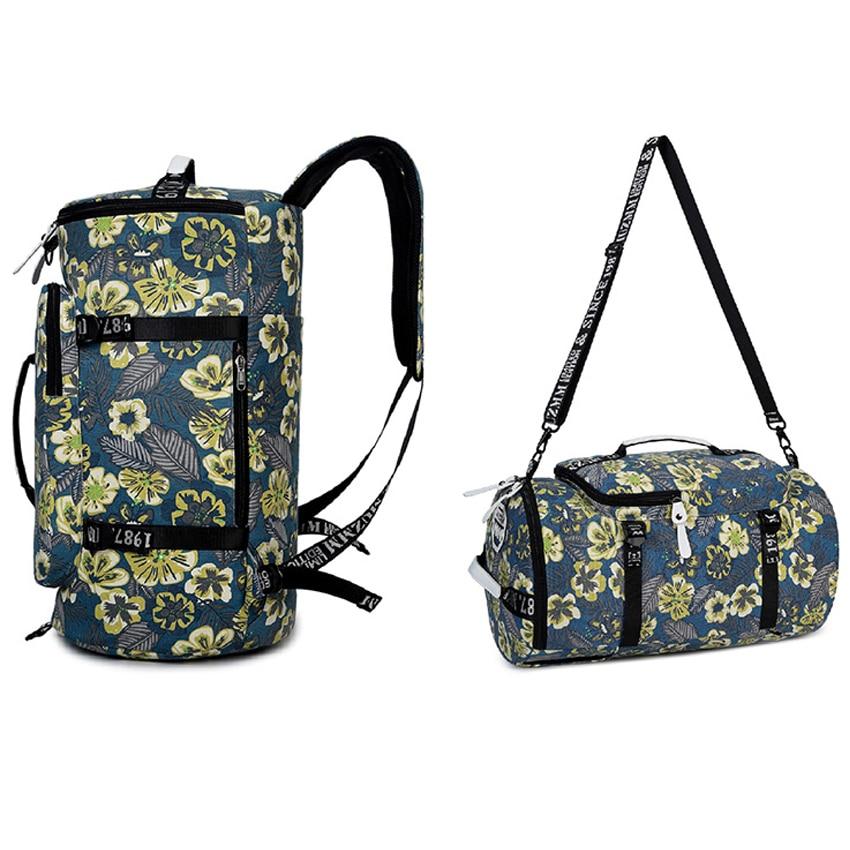 rese väska kvinnor 2018 bagage duffel väska vattentät Canvas - Väskor för bagage och resor - Foto 4