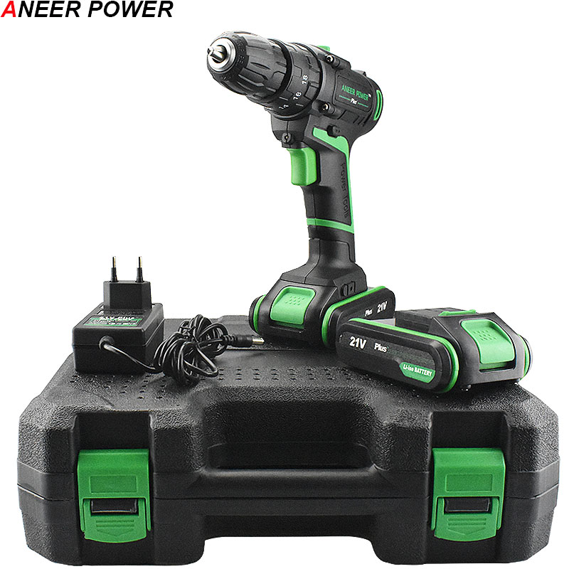 High Quality 21V Impact Drill Home Diy Power Tools Lithium Battery Electric Hand Drill Battery Cordless Drill+ Deluxe Gift BoxHigh Quality 21V Impact Drill Home Diy Power Tools Lithium Battery Electric Hand Drill Battery Cordless Drill+ Deluxe Gift Box
