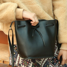 Kostenloser versand Mode 2016 candy farbe mode allgleiches eimer tasche pu leder schulter kreuzkörper frauen handtaschen