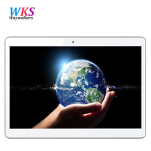 Бесплатная доставка Китай Дешевые waywalkers Tablet pc окта основные 3 Г LTE Построен в 3 Г WCDMA 4 ГБ RAM 64 ГБ ROM Окта ядро 9.6 »IPS экран