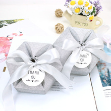 AVEBIEN Wedding Decoration Chocolate Paper Gift Box Mothers Day DIY Favor Candy Event Party Supplies 20pcs